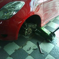 Photo taken at Jogja Speed Auto Care by dean o. on 5/5/2012
