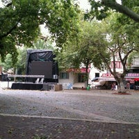 Photo taken at Cumhuriyet Meydanı by Emin Ü. on 8/12/2012