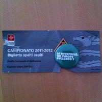 Photo taken at Stadio Comunale, Bellinzona by Mckenzie A. on 5/6/2012