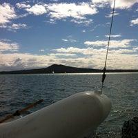 Photo taken at Rangitoto Island by Urs S. on 8/25/2012