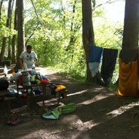 Photo taken at Huckleberry Hill Campsite by Mountain M. on 4/29/2012