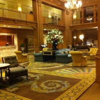Photo taken at Fairmont Olympic Hotel by Richard W. on 8/12/2012