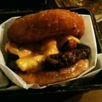 Photo taken at burger. by Grizzly C. on 4/2/2012