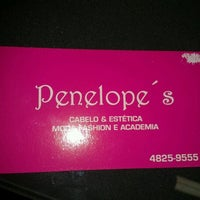 Photo taken at Penelope's Cabelo & Estética by Cinira A. on 9/5/2012