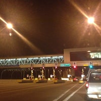 Photo taken at Toll Plaza 1 by Jeremy P. on 4/13/2012