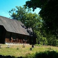 Photo taken at Ruhnu Püha Magdaleena kirik by Riina Q. on 7/25/2012