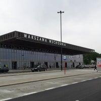 Photo taken at Warsaw East Railway Station by Maciek M. on 6/9/2012