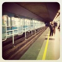 Photo taken at Metro Einstein by Luis Oliver on 8/17/2012