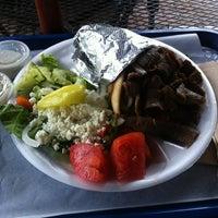 Photo taken at Mr. Gyros - Mediterranean Grill by Scott K. on 6/10/2012