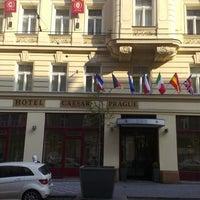 Photo taken at Hotel Caesar Prague by Oleg T. on 4/20/2012