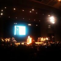 Photo taken at Walt Whitman Hall - Brooklyn College by Carlos M. on 2/2/2012