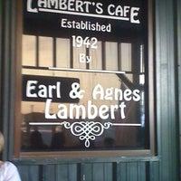 Photo taken at Lambert's Cafe by Joshua C. on 8/12/2011