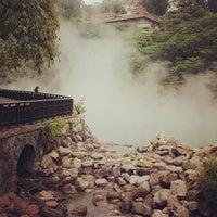 Das Foto wurde bei 地熱谷 Beitou Thermal Valley von Yusuke A. am 10/15/2011 aufgenommen