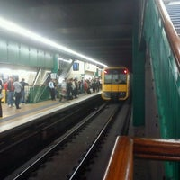 Photo taken at Town Hall Station (Platform 3) by Dezzy on 8/25/2011