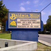 Photo taken at Baldwin Hills Elementary by Bree D. on 6/4/2012