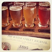 Photo taken at Water Street Brewery by Kelly M. on 6/29/2012