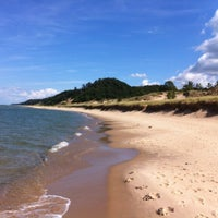 Photo taken at Saugatuck Dunes State Park by Scott D. on 8/18/2012
