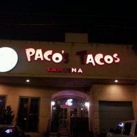 Foto tomada en Paco's Tacos por Jerry F. el 10/24/2011
