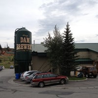 Photo taken at Dillon Dam Brewery by Sarah B. on 7/14/2012