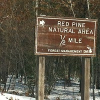 Photo taken at Red Pine Natural Area by Rick R. on 2/20/2012