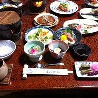 Photo taken at 亀清旅館 by Yuka Y. on 1/28/2012