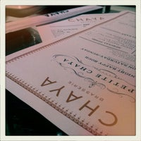 Photo taken at Chaya Brasserie by Lily Y. on 1/15/2012