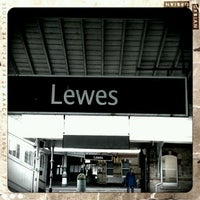 Photo taken at Lewes Railway Station (LWS) by The Victory is Mine on 5/1/2012