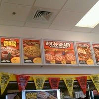 Photo taken at Little Caesars Pizza by Heather C. on 10/6/2011