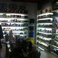Photo taken at Lomography Gallery Store Madrid-Argensola by Borja V. on 3/15/2012