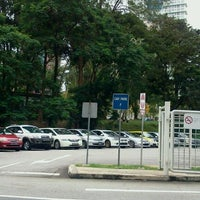 Photo taken at Grange Road Car Park (G 0005) by Where's Uncle Flea? on 12/21/2011