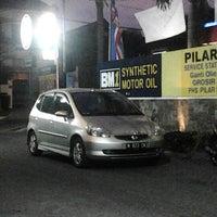 Photo taken at Pilar Tidar Car Wash by Last P. on 9/8/2012