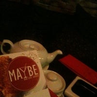 Photo taken at Maybe by Lit L. on 10/26/2011