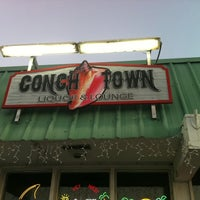 Photo taken at Conch Town Liquor & Lounge by Kristin S. on 2/3/2011