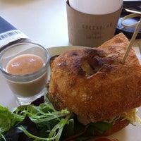 Photo taken at Green Bean Coffee by Jennifer R. on 4/6/2011