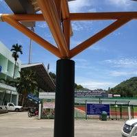 Photo taken at Surakul Sports Stadium by M W. on 4/7/2012