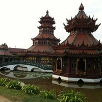 Photo taken at Ancient Siam by Sandra Y. on 1/5/2012