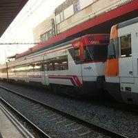 Photo taken at RENFE L'Hospitalet de Llobregat by Arnau C. on 2/28/2012