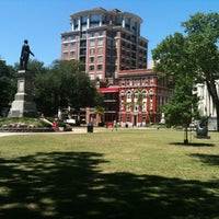 Photo taken at Lafayette Square by Gisele A. on 4/24/2012