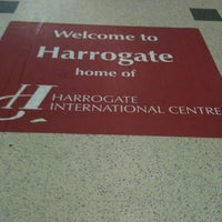 Photo taken at Harrogate Railway Station (HGT) by Jacopo B. on 4/25/2012