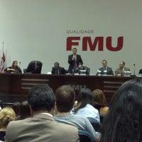 Photo taken at FMU - Casa Metropolitana do Direito by Thiago M. on 3/19/2012