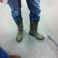 Photo taken at Boot Barn by Shari D. on 8/6/2011