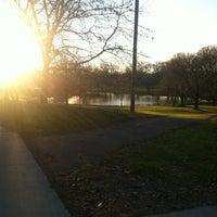 Photo taken at Kirby Park Playground by Alaina W. on 11/25/2011
