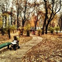 Снимок сделан в Павлівський сквер пользователем Sasha Y. 11/6/2011