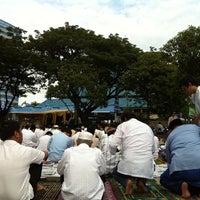 Photo taken at Masjid Raya Pondok Indah by Andriko P. on 11/6/2011