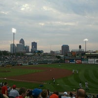 Photo taken at Principal Park by Kelsey J. on 9/2/2011