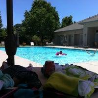 Photo taken at Heritage Oak Pool by Tina C. on 6/2/2012
