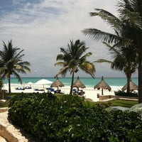 Photo taken at Maroma Hotel by Adam C. on 6/9/2011
