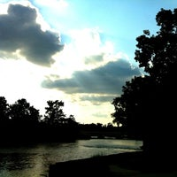 Photo taken at Mishawaka River Walk by Carrie K. on 8/16/2011