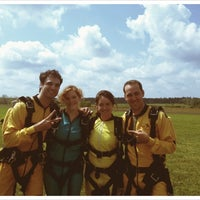 Photo taken at Gold Coast Skydivers by OffBeat Magazine on 3/31/2012