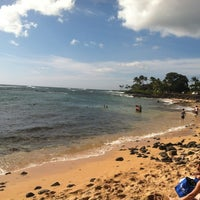 Photo taken at Snorkeling @ Lawai Beach by Shawn P. on 12/24/2011